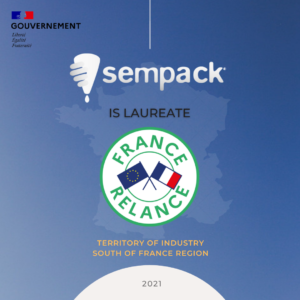SEMPACK LAUREATE OF THE FRANCE RELAUNCH PLAN